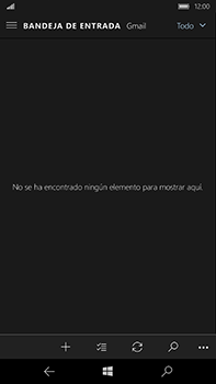 Microsoft Lumia 950 XL - E-mail - Configurar Gmail - Paso 6