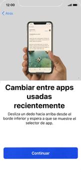Apple iPhone X - Primeros pasos - Activar el equipo - Paso 26