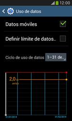 Samsung S7580 Galaxy Trend Plus - Internet - Ver uso de datos - Paso 5