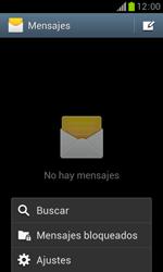 Samsung S7560 Galaxy Trend - MMS - Configurar el equipo para mensajes de texto - Paso 5