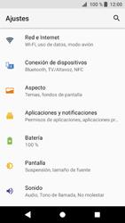 Sony Xperia XZ1 - Internet - Ver uso de datos - Paso 4