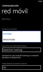 Nokia Lumia 520 - Internet - Activar o desactivar la conexión de datos - Paso 6