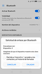 Huawei P10 - Connection - Conectar dispositivos a través de Bluetooth - Paso 6