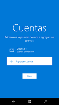 Microsoft Lumia 950 XL - E-mail - Configurar correo electrónico - Paso 21