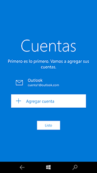 Microsoft Lumia 950 XL - E-mail - Configurar Outlook.com - Paso 15