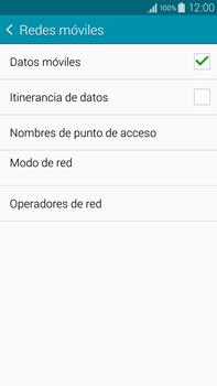 Samsung N910F Galaxy Note 4 - Internet - Configurar Internet - Paso 6