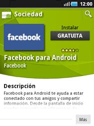 Samsung S5570 Galaxy Mini - Aplicaciones - Descargar aplicaciones - Paso 8
