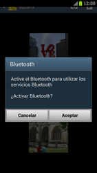 Samsung I9300 Galaxy S III - Connection - Transferir archivos a través de Bluetooth - Paso 9