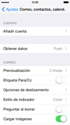 Apple iPhone 6 iOS 8 - E-mail - Configurar Outlook.com - Paso 4