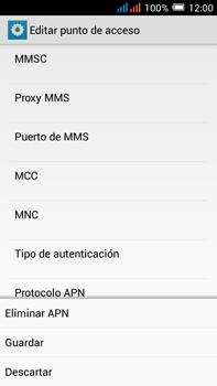 Alcatel Pop C9 - MMS - Configurar el equipo para mensajes multimedia - Paso 16