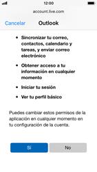 Apple iPhone 5s - iOS 11 - E-mail - Configurar Outlook.com - Paso 8