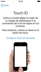 Apple iPhone SE - Primeros pasos - Activar el equipo - Paso 12