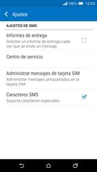 HTC One M9 - MMS - Configurar el equipo para mensajes de texto - Paso 8