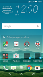 HTC One M9 - E-mail - Configurar Outlook.com - Paso 1