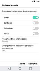 LG K10 (2017) - E-mail - Configurar Outlook.com - Paso 9