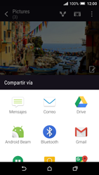 HTC One A9 - Connection - Transferir archivos a través de Bluetooth - Paso 8