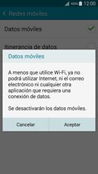 Samsung A500FU Galaxy A5 - Internet - Activar o desactivar la conexión de datos - Paso 7