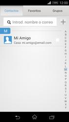 Sony D2203 Xperia E3 - E-mail - Escribir y enviar un correo electrónico - Paso 6