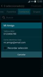 Samsung G850F Galaxy Alpha - MMS - Escribir y enviar un mensaje multimedia - Paso 7