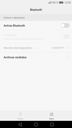 Huawei P9 - Connection - Conectar dispositivos a través de Bluetooth - Paso 5