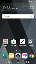 LG K10 (2017) - E-mail - Configurar Gmail - Paso 2