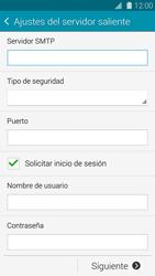 Samsung G900F Galaxy S5 - E-mail - Configurar correo electrónico - Paso 12