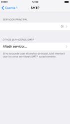 Apple iPhone 6s iOS 10 - E-mail - Configurar correo electrónico - Paso 21