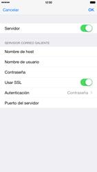 Apple iPhone 6 Plus iOS 8 - E-mail - Configurar correo electrónico - Paso 19