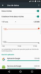 BlackBerry DTEK 50 - Internet - Ver uso de datos - Paso 9