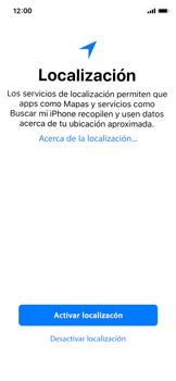 Apple iPhone X - Primeros pasos - Activar el equipo - Paso 20
