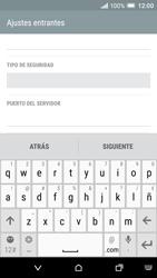 HTC One A9 - E-mail - Configurar correo electrónico - Paso 10