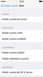 Apple iPhone SE - E-mail - Configurar correo electrónico - Paso 6