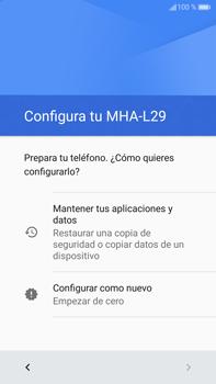 Huawei Mate 9 - Primeros pasos - Activar el equipo - Paso 14