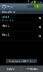 Samsung S7560 Galaxy Trend - WiFi - Conectarse a una red WiFi - Paso 8