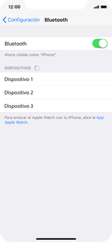 Apple iPhone X - Connection - Conectar dispositivos a través de Bluetooth - Paso 5