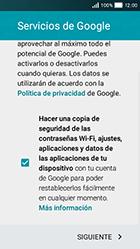 Huawei Y5 - E-mail - Configurar Gmail - Paso 14