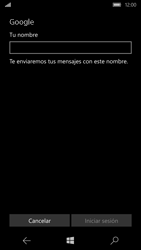 Microsoft Lumia 950 - E-mail - Configurar Gmail - Paso 10