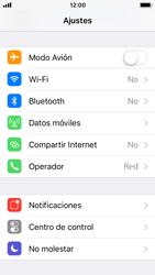 Apple iPhone 5s - iOS 11 - WiFi - Conectarse a una red WiFi - Paso 3