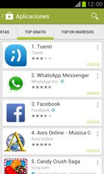 Samsung S7560 Galaxy Trend - Aplicaciones - Descargar aplicaciones - Paso 9