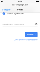 Apple iPhone 5s - iOS 11 - E-mail - Configurar Gmail - Paso 7