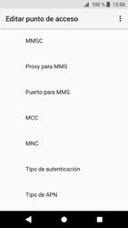 Sony Xperia XZ1 - MMS - Configurar el equipo para mensajes multimedia - Paso 12
