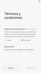 Huawei P8 - Primeros pasos - Activar el equipo - Paso 5