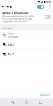 LG G6 - WiFi - Conectarse a una red WiFi - Paso 7