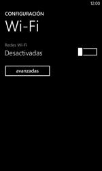 Nokia Lumia 520 - WiFi - Conectarse a una red WiFi - Paso 5