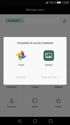 Huawei P8 - MMS - Escribir y enviar un mensaje multimedia - Paso 13