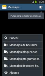 Samsung S7580 Galaxy Trend Plus - MMS - Configurar el equipo para mensajes de texto - Paso 5