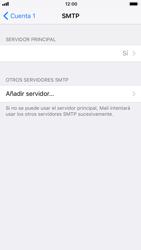 Apple iPhone 6 iOS 11 - E-mail - Configurar correo electrónico - Paso 18