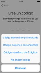 Apple iPhone 5s iOS 10 - Primeros pasos - Activar el equipo - Paso 12