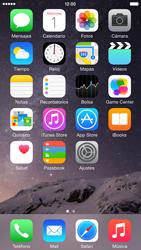 Apple iPhone 6 iOS 8 - MMS - Escribir y enviar un mensaje multimedia - Paso 2