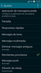 Samsung G850F Galaxy Alpha - MMS - Configurar el equipo para mensajes de texto - Paso 6